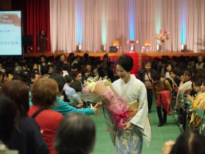 岡崎女子短期大学創立50周年記念行事 檀ふみ氏のトークショーが開催されました。:画像4