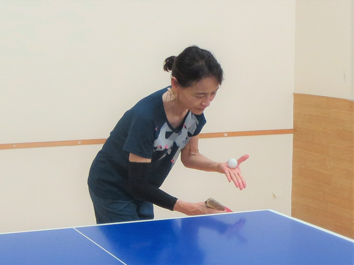 第63回全国教職員卓球選手権大会出場:画像1