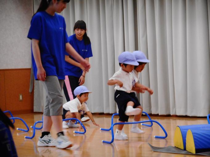 運動遊び楽しかったよ♪ ~すみれ組~ :画像3