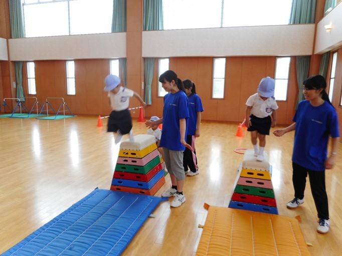 運動遊び楽しかったよ♪ ~すみれ組~ :画像4