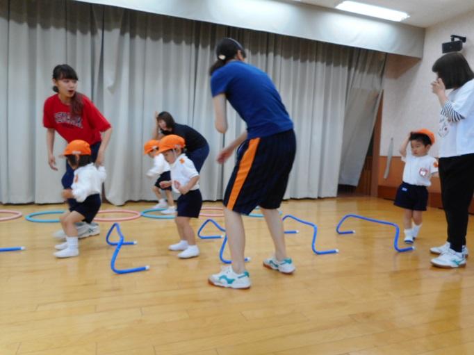 運動遊び楽しかったよ♪ ~ちゅうりっぷ組~:画像3