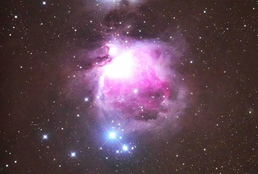 「親子で、冬の星空を観察する会」は曇天のため、中止