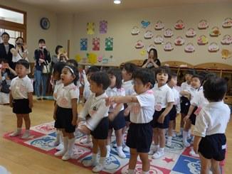 れんげ組の保育参観・学級懇談会がありました☆:画像1