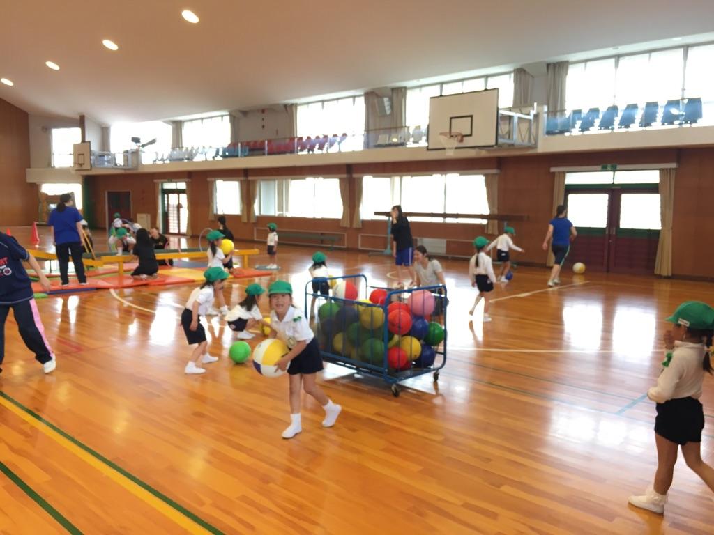 あやめ組・すずらん組の運動遊びがありました☆:画像5