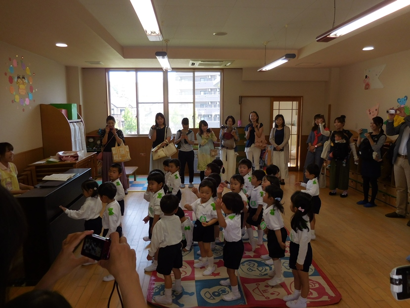 たんぽぽ組の保育参観・学級懇談会がありました☆:画像1