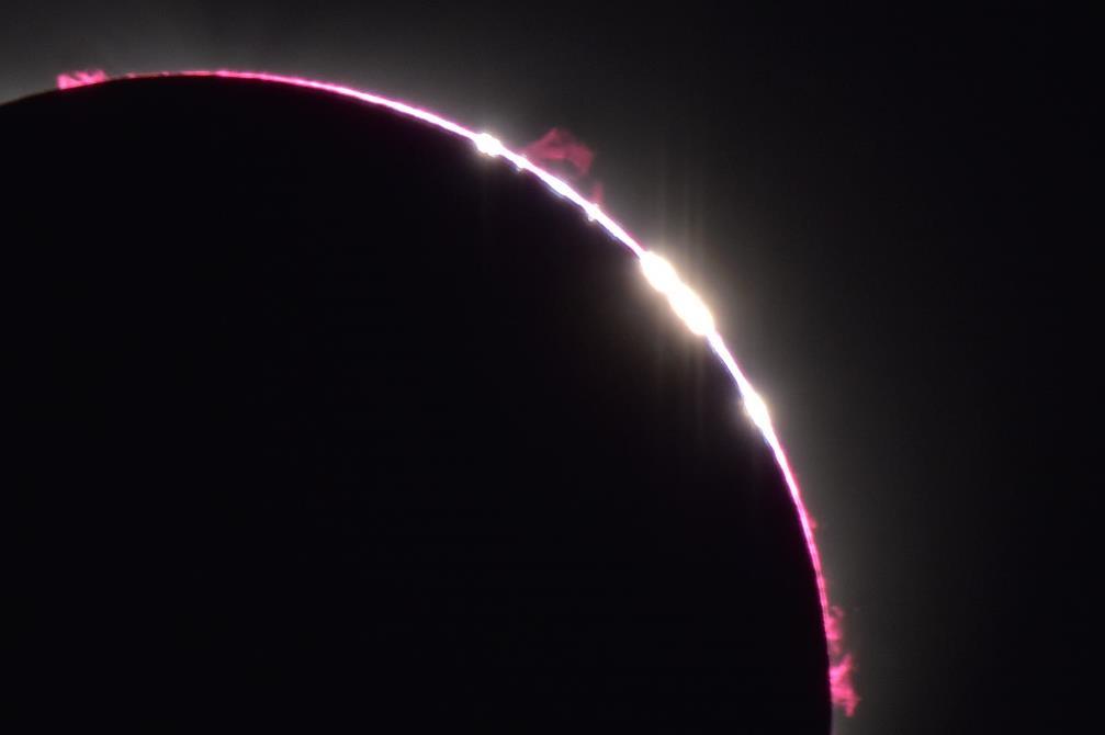 皆既日食(アメリカ)観測に成功:画像1