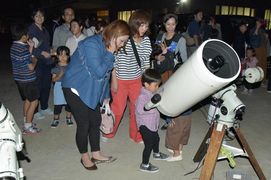 「土星」「月面」がとってもよく見えました