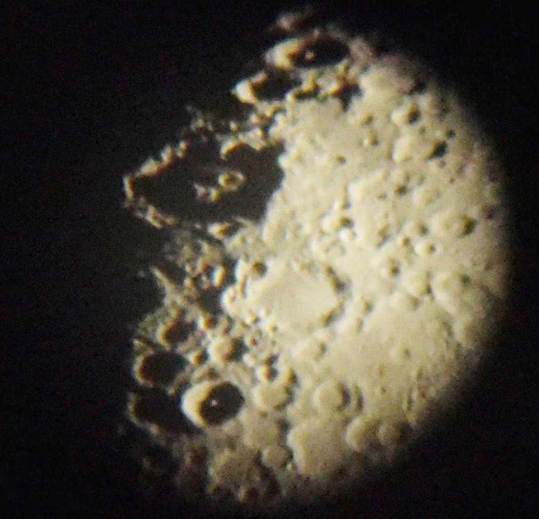 「土星」「月面」がとってもよく見えました:画像6