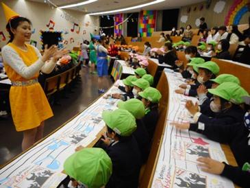 幼児教育祭のリハーサルを見に行きました!:画像2
