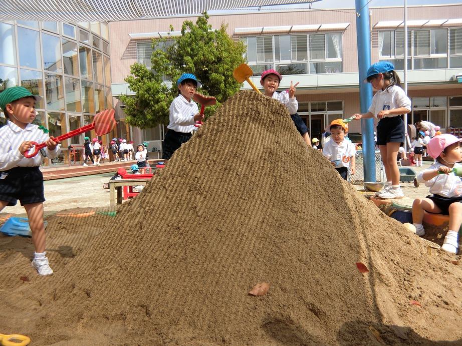 大きなお山を作ったよ☆:画像2