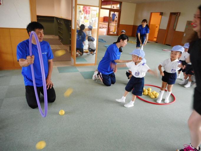 運動遊び楽しかったよ♪ ~すみれ組~ :画像1
