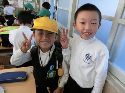 根石小学校との交流会♪ ~年長児~:画像2