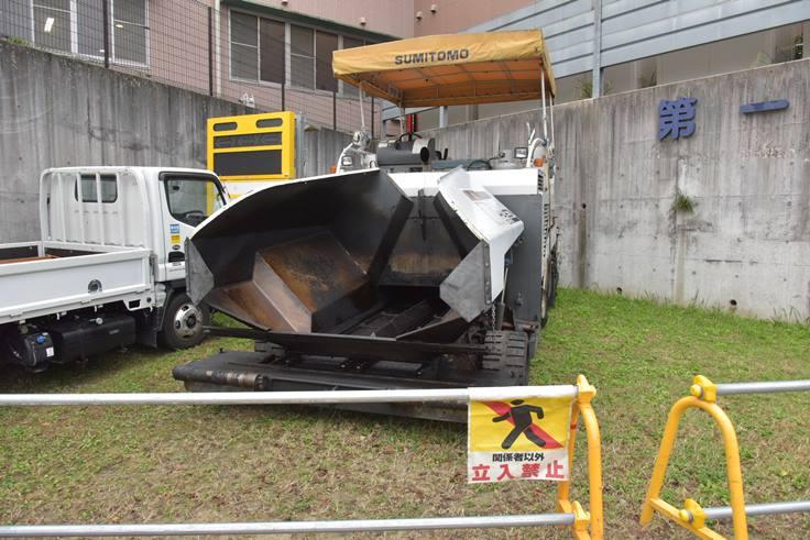 道路舗装工事車両に注意:画像2