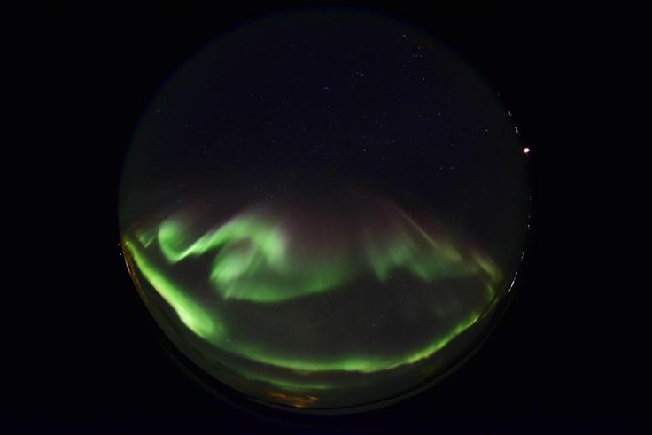 アイスランドの星空