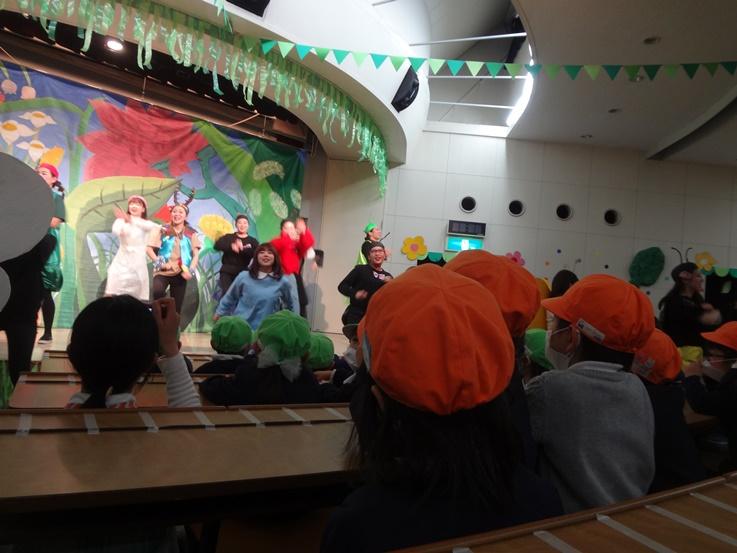幼児教育祭のリハーサル見学に行きました☆:画像1