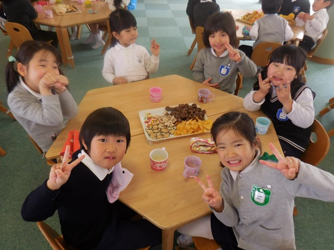 お菓子パーティー☆年長児☆:画像1