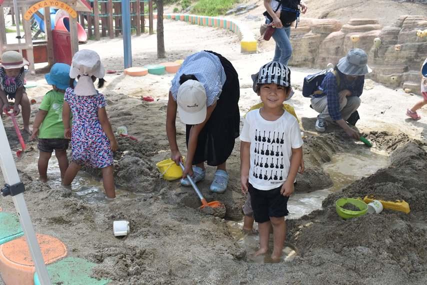夏休み♪夏季預かり保育・園庭開放:画像1