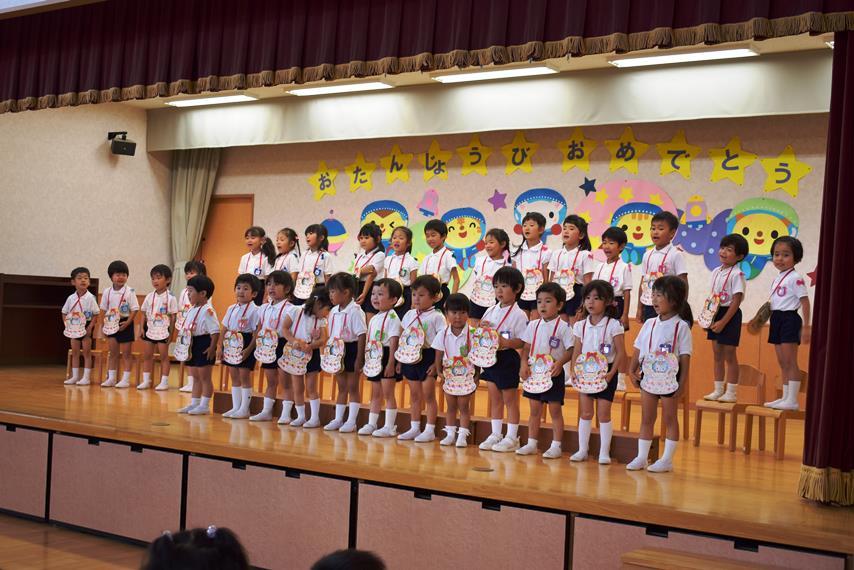 7月の誕生会がありました☆:画像2