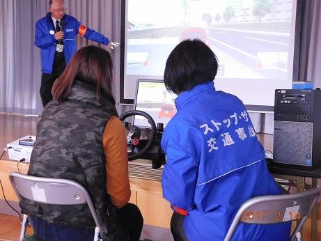 交通安全教室☆