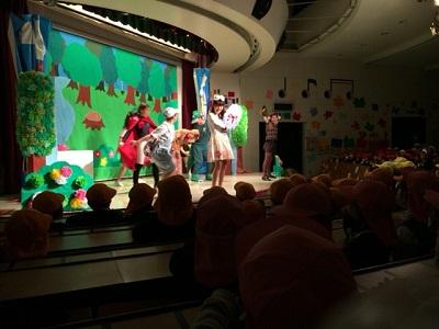幼児教育祭リハーサル♪