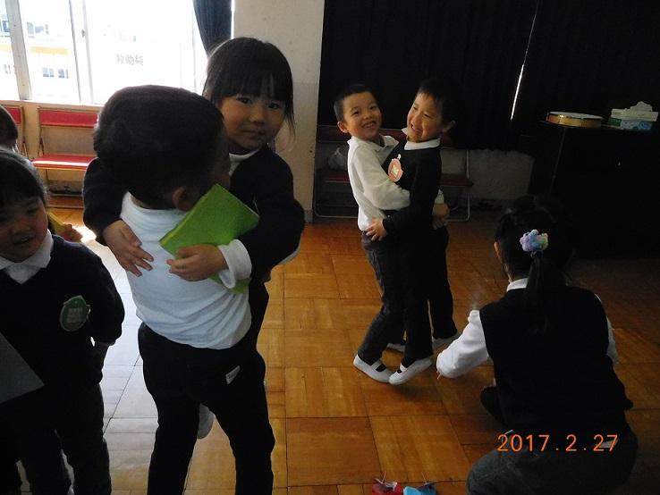 お別れ会をしたよ☆ 年少・年長 2月27日:画像5
