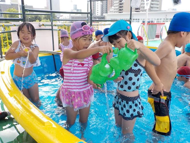プール遊び楽しいね★年長:画像5