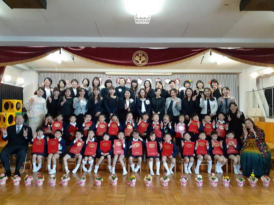 卒園式★集合写真