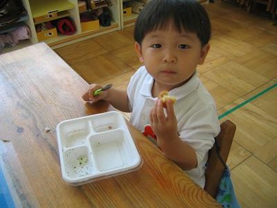 給食が始まりました♡(年少組):画像3