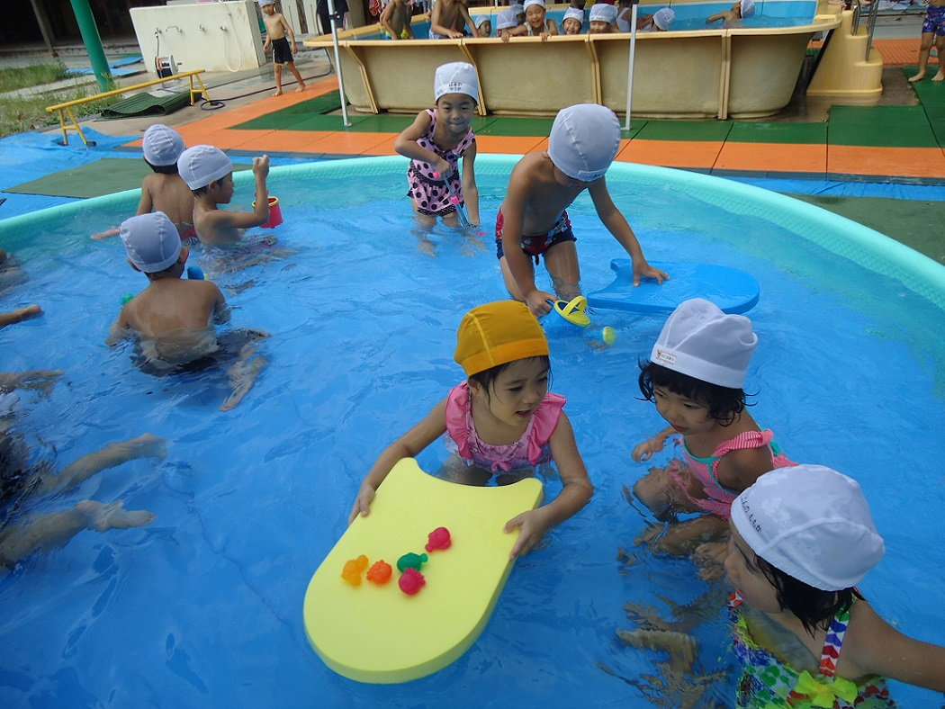 ☆プール遊び楽しかったね☆年中:画像2