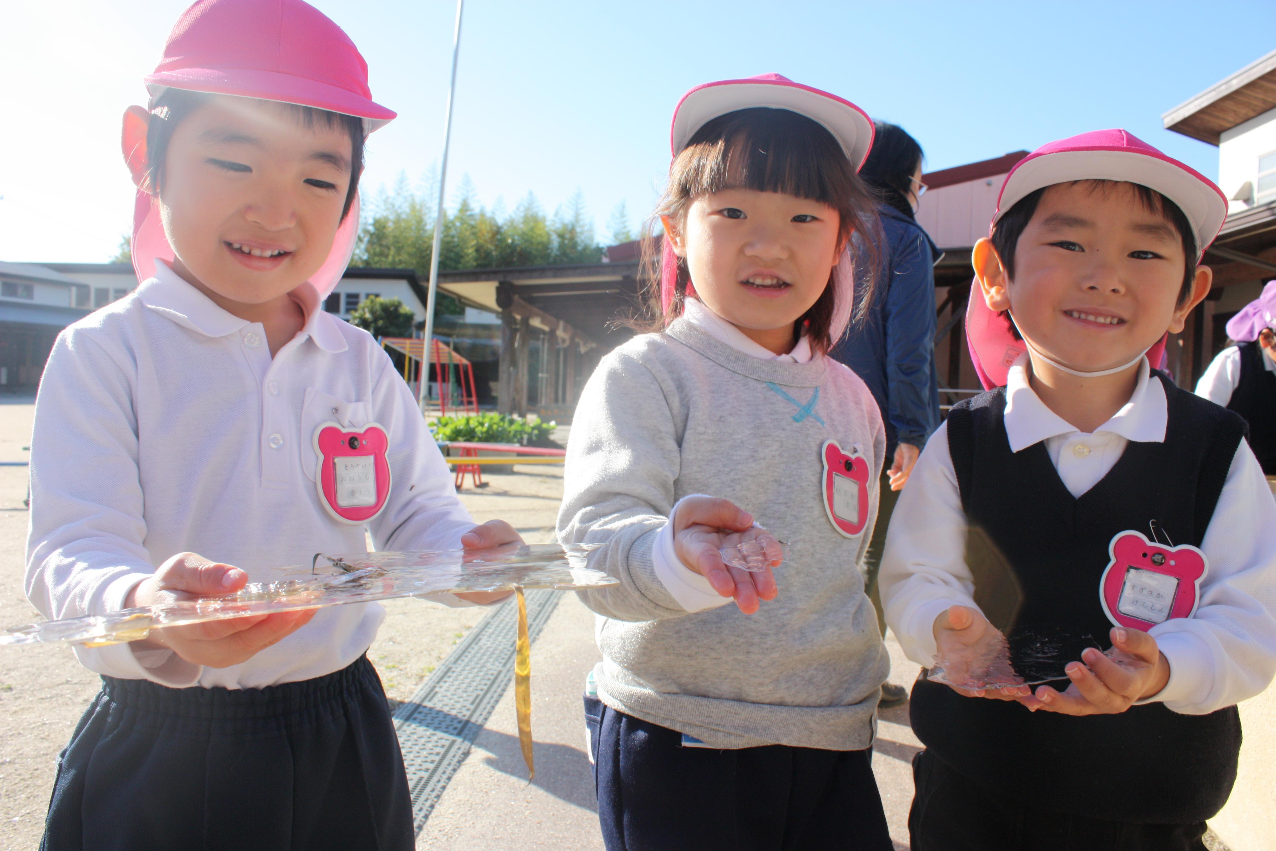 幼稚園に冬がやってきたよ!:画像1