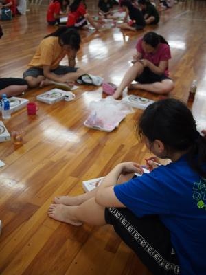 神戸大会にむけて、ダンス部は合宿練習中!