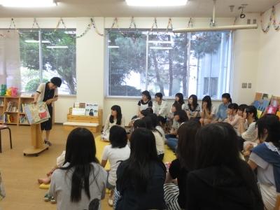 ミニ講座「絵本cafe part」