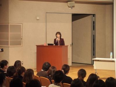 井桁容子先生による「レクチャーとディスカッション」が行われました。:画像1