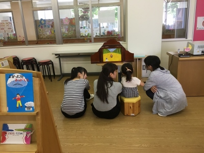 幼児教育学科 授業風景②-保育内容演習(言葉)-