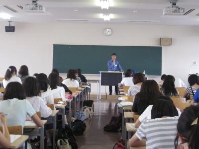 岡崎女子大学 授業紹介『保育実習指導Ⅰb〈第2回特別授業〉』(3年生)
