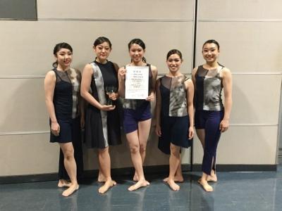 ダンス部が特別賞を受賞:アーティスティック・ムーブメント・イン・トヤマ2016