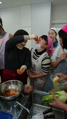 キムチとチヂミを作って食べる会:画像4