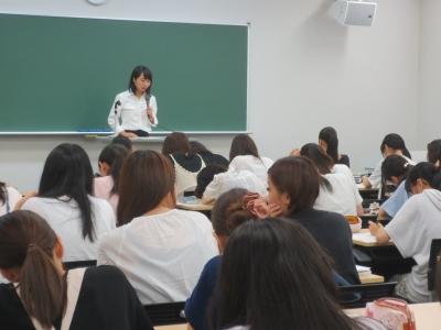 岡崎女子大学 授業紹介『教育実習指導Ⅰ』(2年生):画像2