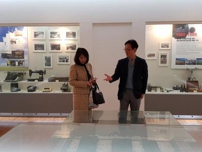 林学長が韓国の姉妹校を表敬訪問しました!:画像2