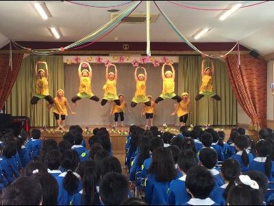 ダンス部 春休み 幼稚園でのボランティア活動報告:画像2