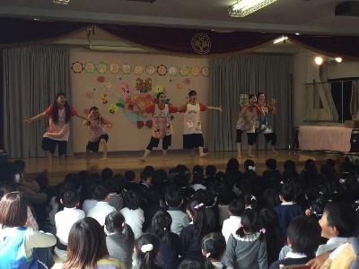 ダンス部 春休み 幼稚園でのボランティア活動報告:画像3