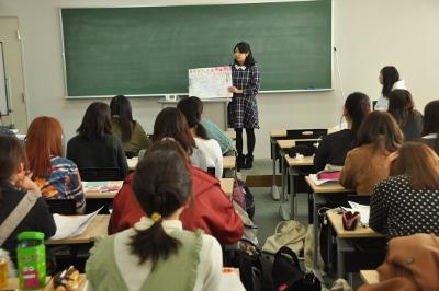 岡崎女子大学 授業紹介『地域貢献とボランティア』(1年生):画像1