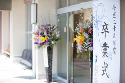 平成29年度 岡崎女子短期大学卒業式:画像1
