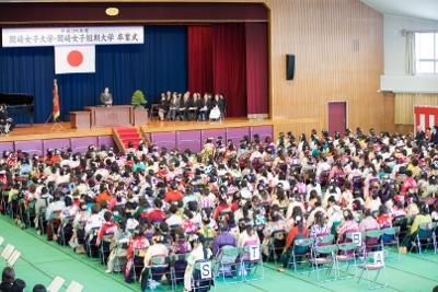 平成29年度 岡崎女子短期大学卒業式:画像2