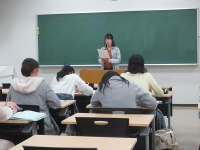 岡崎女子大学 授業紹介『専門ゼミナールⅢ(長期フィールド実習)』(4年生):画像3