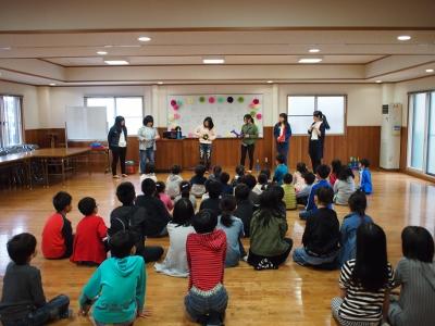 サークル「バルーンアートサークル」のボランティア活動