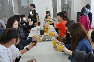 学部全体ガイダンス、交流茶話会を開催しました:画像3
