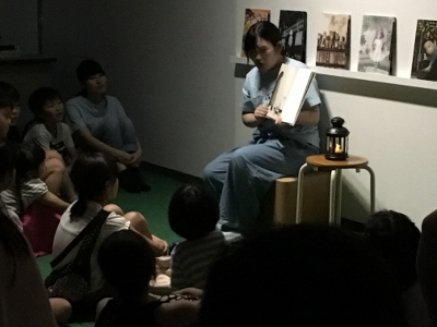 サークル「ホビット」が刈谷市美術館「ナイト☆ミュージアム」に参加しました