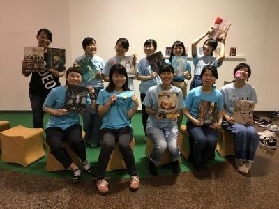 サークル「ホビット」が刈谷市美術館「ナイト☆ミュージアム」に参加しました:画像3