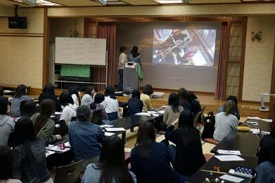 現代ビジネス学科のコミュニケーションワークショップ1日目:画像4